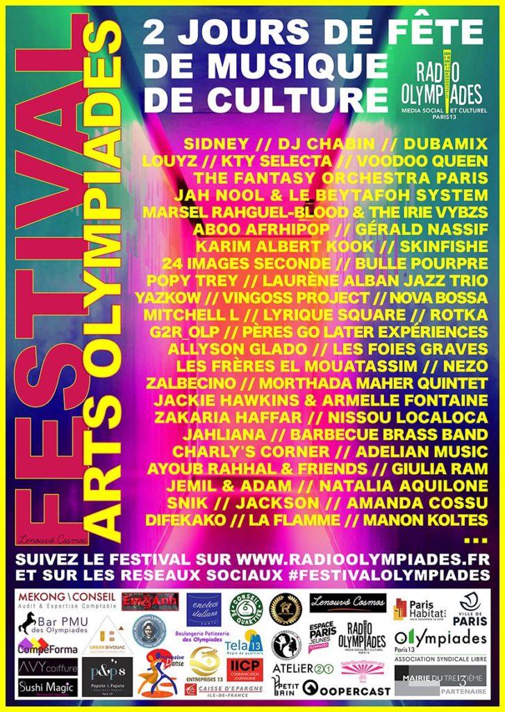 Festival Arts Olympiades